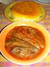 persian cooking eggplant