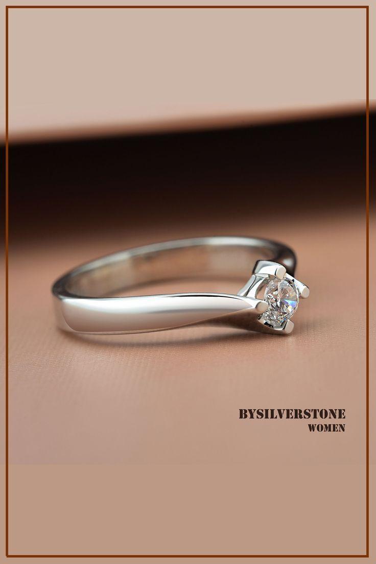 Unique Bridal Wedding Solitaire Ring 0 10 Ctw Solitaire Diamond Ring 14k Gold Gift Ring 18k Solid Gold Ring Engagement Real Diamond Ring