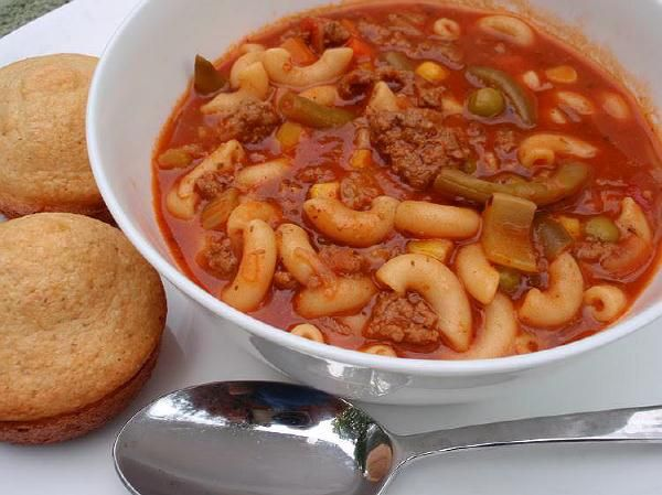 hamburger vegetable soup | Soups and Stews | Pinterest
