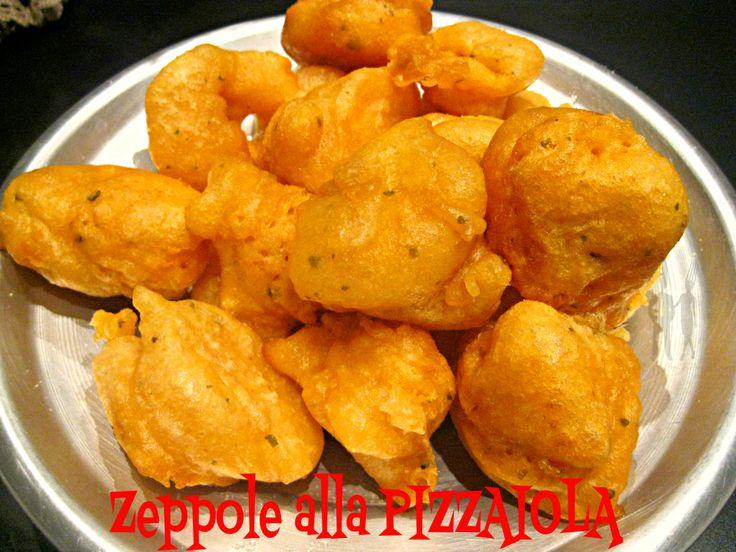 Le zeppole alla pizzaiola sono uno sfiziosissimo fritto che può essere servito negli antipasti o in un a cena a base di pizza e fritti. Semplicissime da p