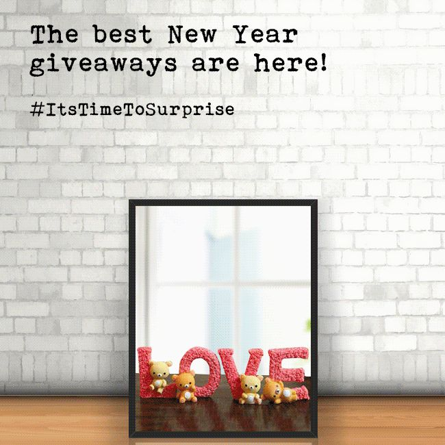 The year is coming to an end. Is your surprise for your dear ones ready? https://goo.gl/Py6F4y #fernsnpetals #newyear #ItsTimeToSurprise