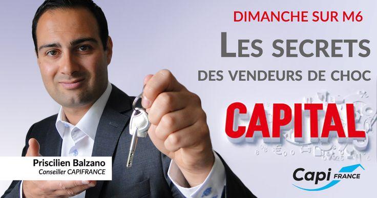 Capifrance dans l'émission Capital #immobilier #TV