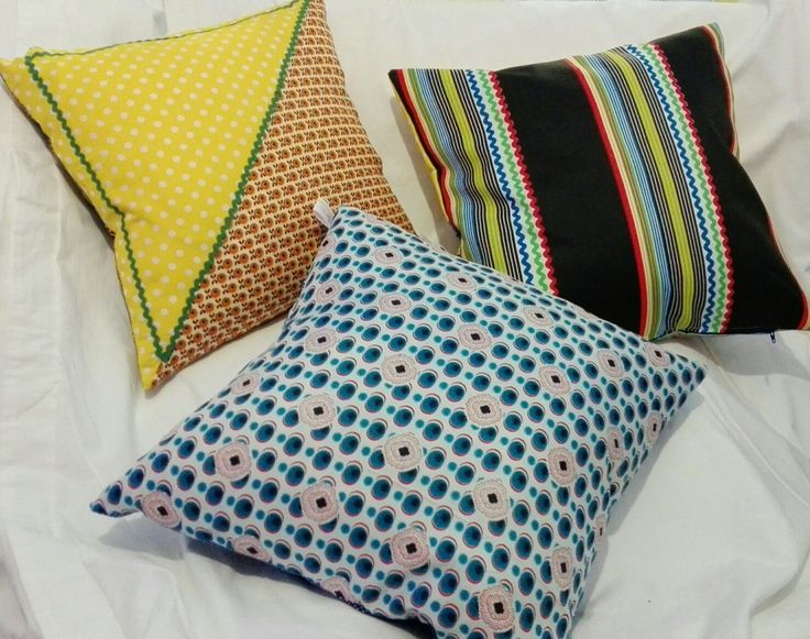 Flip side of scatter cushions