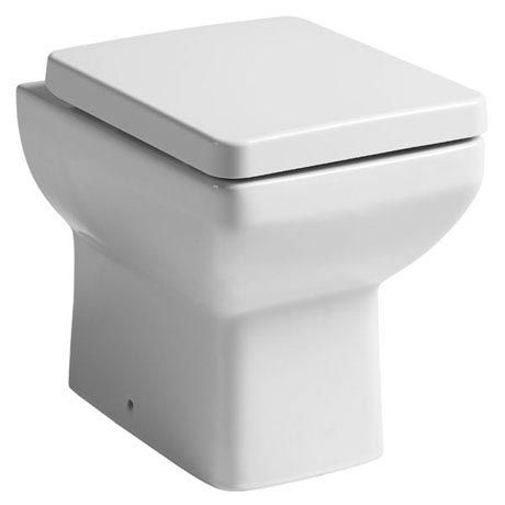 Maisy Lou Back to Wall Pan With Seat [PT-BTWIBOM] - £99.99 : Platinum Taps & Bathrooms