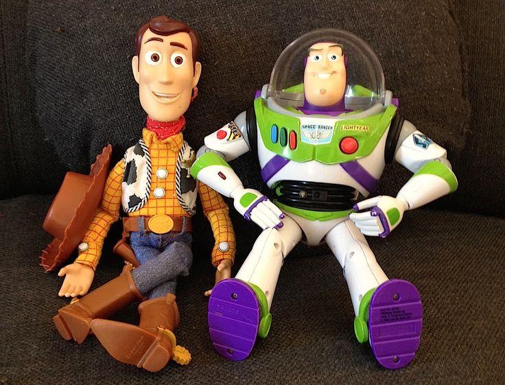 Shérif Woody et Buzz l'éclair de Toy Story
