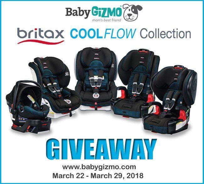 Live Facebook Britax Cool Flow Car Seat, Car Seat Giveaway 2018