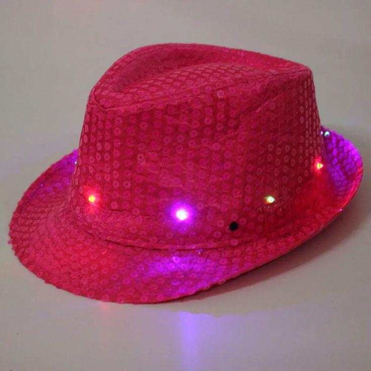 sombreros led pack cotillon luminoso