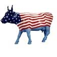 NYC Red, White and Moo Cow
