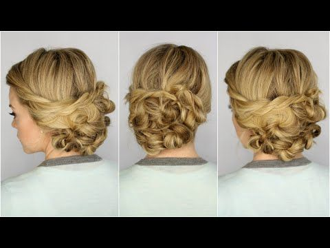 Looped Updo - YouTube
