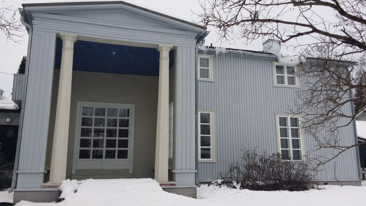 Kunnostettu Villa Väinölä Alajärvellä.