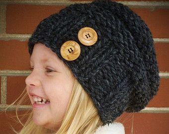 Maglia cappello Cupcake cappello maglia Toddler di BoPeepsBonnets