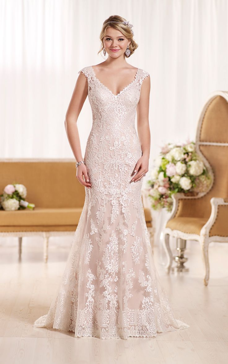 710 best wedding 2014 images on pinterest wedding dressses sexy wedding dress with cap sleeves by ombrellifo Images