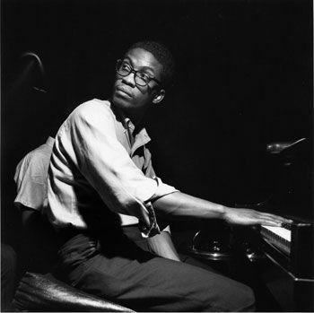 """Herbie Hancock, who made his debut on Blue Note, at his """"Inventions & Dimensions"""" session of August 30, 1963."""