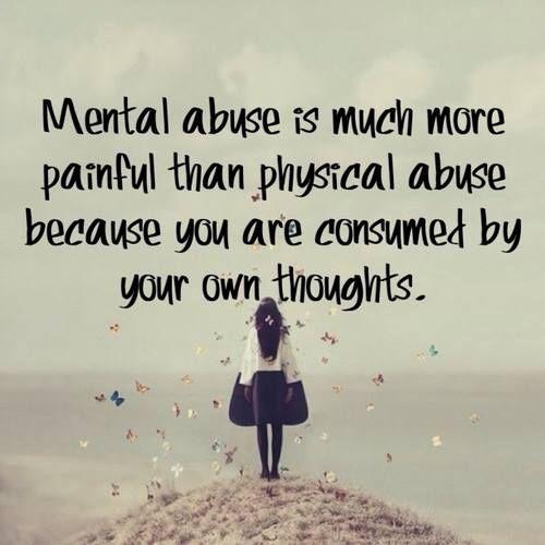 Abuse Quotes: Geestelijke Mishandeling Is Erger Als Lichamelijke