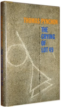a literary analysis of the crying of lot 49 by thomas pynchon The crying of lot 49 by thomas pynchon review by the quarterly conversation it says something about thomas pynchon that the crying of lot 49 , by all reports a straightforward book, is, by pynchonian standards, an oddity.