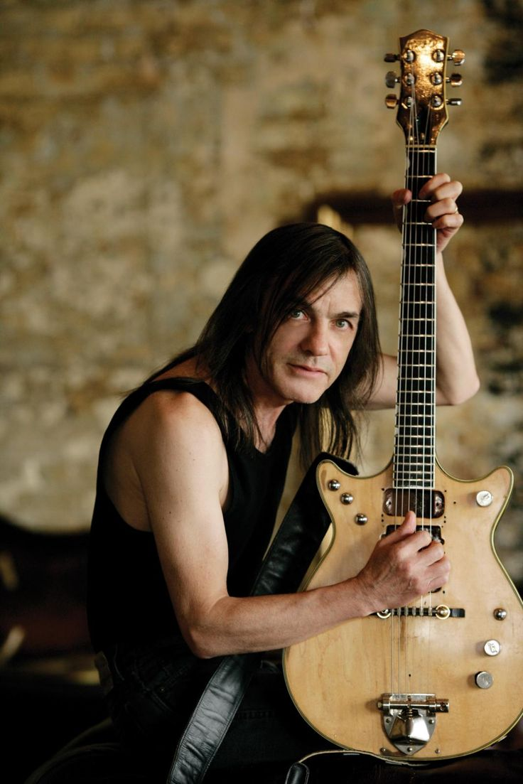 Malcolm Young ~ AC/DC One of the finest rock rhythm players! You will be missed !!!