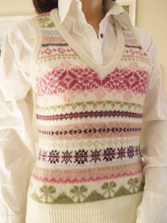 65 best fairisle vests images on Pinterest | Fair isles, Vests and ...