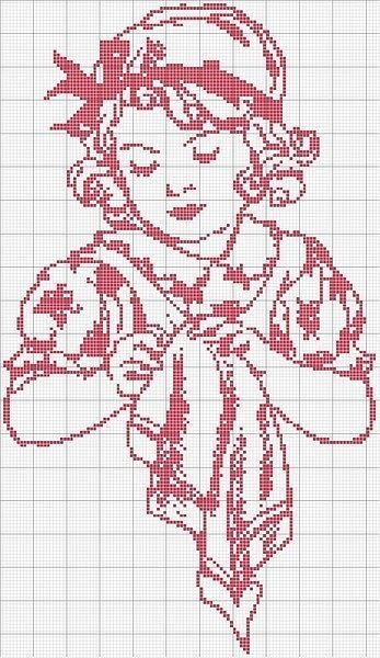 Point de croix -cross stitch ❤️✼❤️✼ Gallery.ru / Фото #9 - Монохром - elena-555