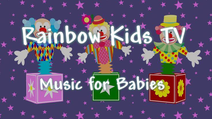 Soothing Videos - Baby Music - Mozart - Sonata No. 13 - Jumping Clowns -...