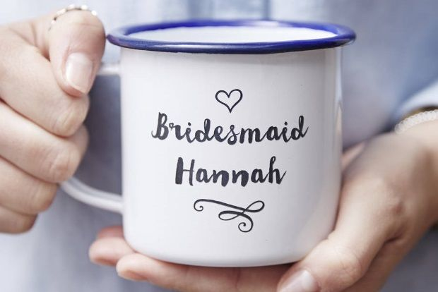 An Everyday Reminder Personalised Bridesmaid Mug