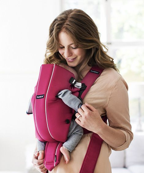 Baby Carrier Original is specially designed in collaboration with pediatricians to fit your baby from birth – you don't need any extra insert or pillow.