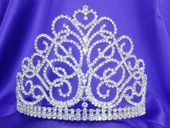 beauty pageant scepters and crowns | Pageant Tiaras Large Tiaras