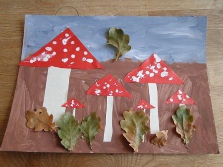 Kriebevel: Herfstknutsel - Autumn craft