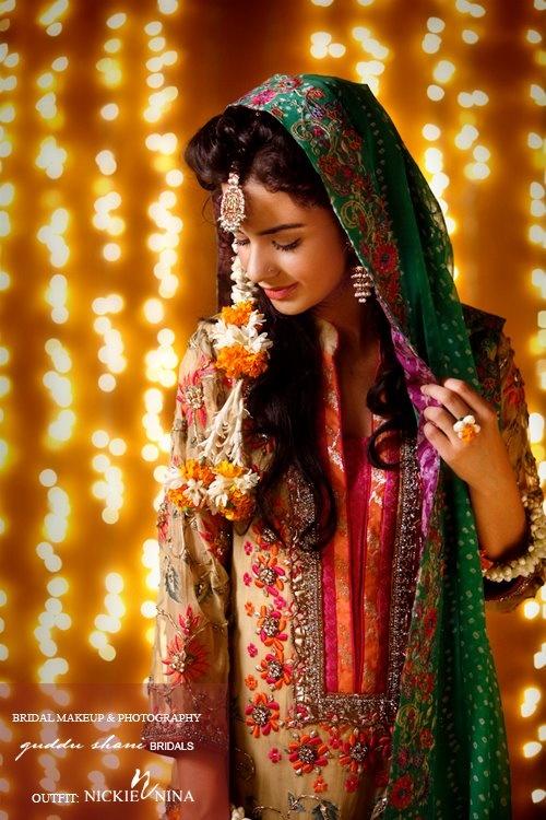 N Mehndi Makeup : Bridal mehndi makeup trends idal
