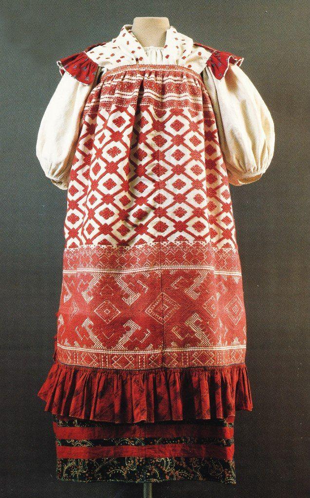 Peasant Wedding Apparel. Vologda Province., Velikoustyuzhsk county. The end of the XIX century. / / Russian folk costume: [album]. - M., 1989. - S. 61.