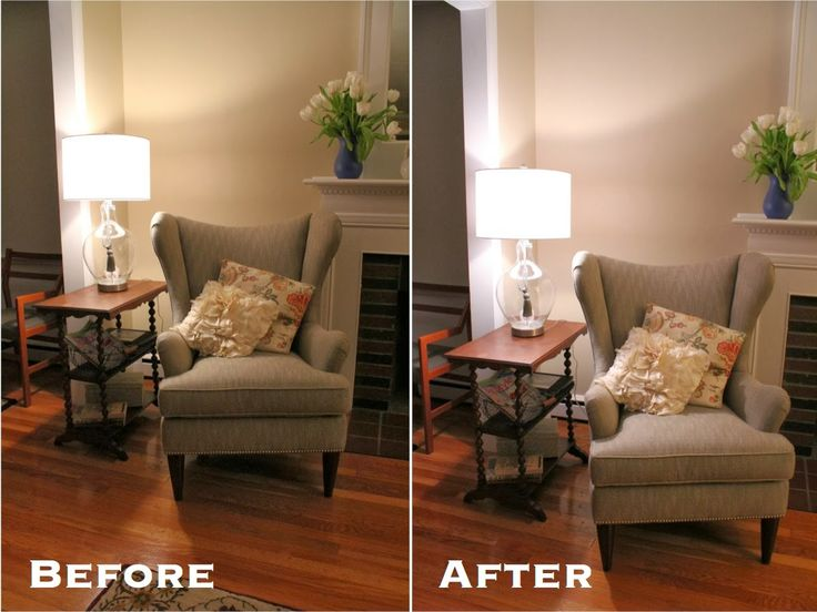 A spring living room reading nook transformation with GE reveal lighting by blogger No. 29 & 132 best GE Lighting 100 Reveal images on Pinterest | Bulbs ... azcodes.com