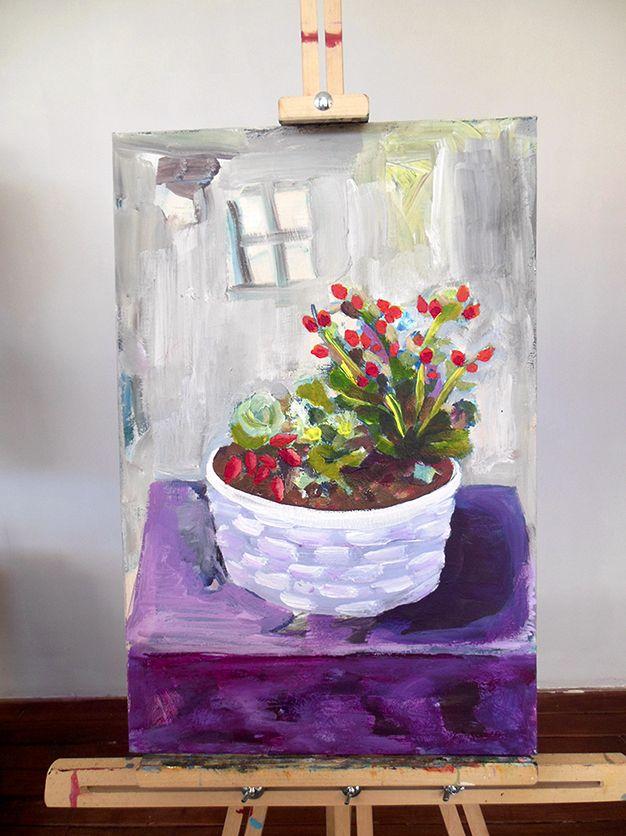 Original Artwork GianniTheArtist My Mother's Little Garden