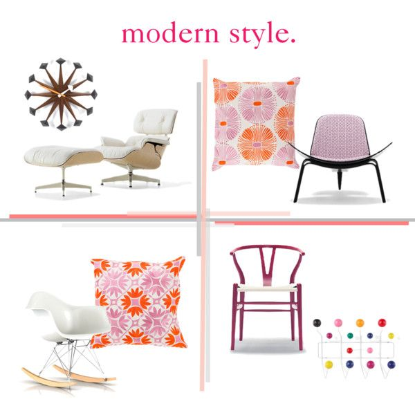 Pretty in Pink & Mad about Modern