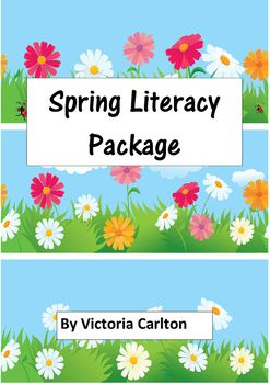About this packageSpring is a time that makes our hearts ZING and promotes joy and optimism. Its hard to be down on a beautiful spring day- even if your class got all their spelling wrong!This literacy package is a dig and delve one and will provide lots of ideas to celebrate Spring.