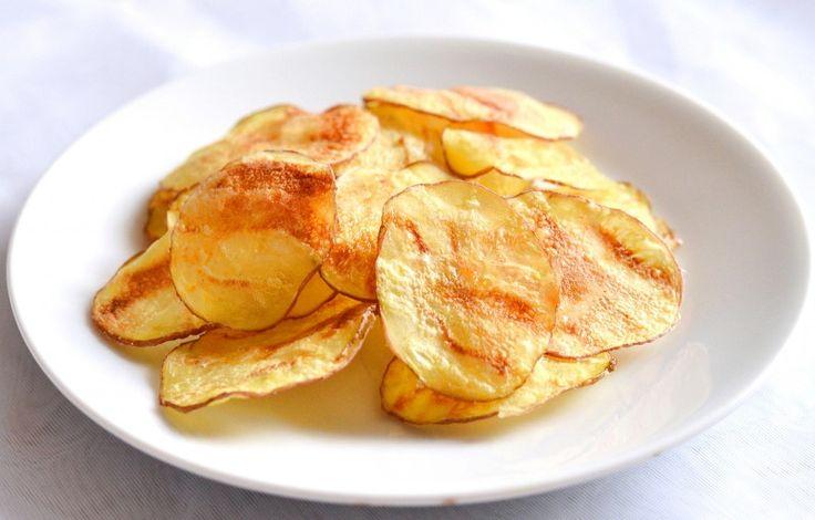 Картофельные чипсы в духовке — Кулинарный Рай