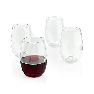 govino plastic stemless wine glass set of 4 contest - Plastic Stemless Wine Glasses