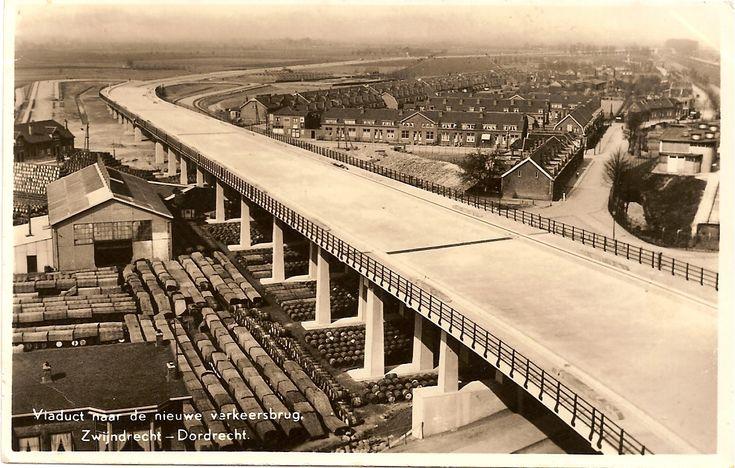 historie dordrecht De brug van dordrecht naar Zwijndrecht