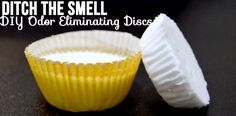 diaper pail odor discs-- I'm going to try this for the diaper pail, trash can, cat litter pail, fridge.......