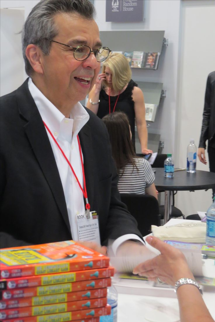 Author Chris Grabenstein at BookExpo 2017 in NYC