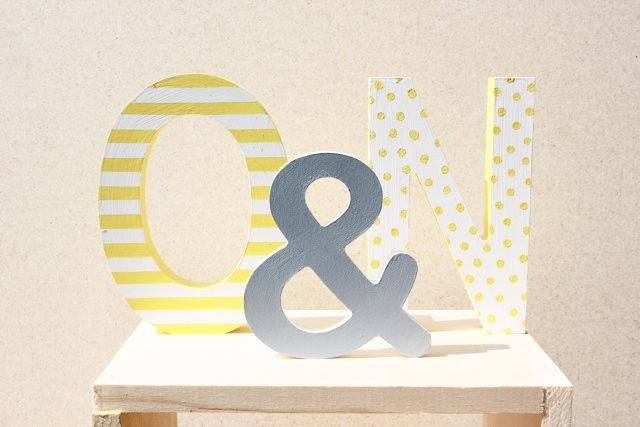 custom wedding decor - caitlyn ryall