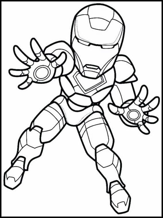 The Super Hero Squad 6 Printable Coloring Pages For Kids Cartoon