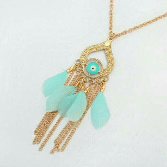 Saya menjual Kalung Fashion Etsy Bohemian feather metal pendant simple necklace -0AB6BE seharga Rp24.000. Dapatkan produk ini hanya di Shopee! https://shopee.co.id/deventostore/49049772 #ShopeeID