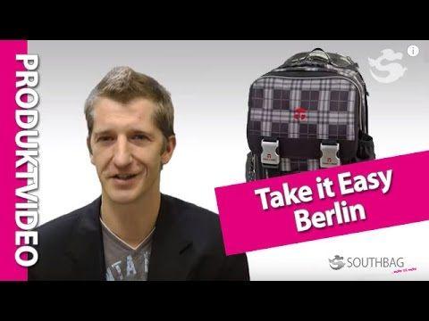 Take it Easy Schulrucksack Berlin - Produktvideo - YouTube