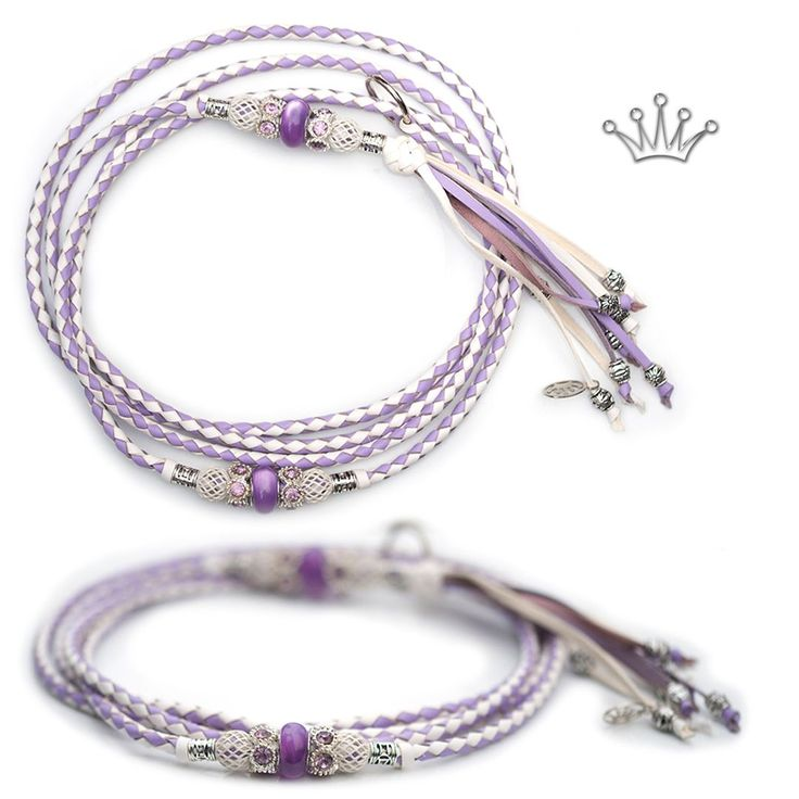 FOR SALE! Kangaroo leather show lead in lavender & white. Interested? Visit the link for more information! * * * #showlead #showleads #showleash #dogshow #emoticon #emoticonleads #emoticonshowleads #kangarooleather #showdog #customlead #customshowlead #dogshows #utställningskoppel #kangarooleatherlead #dogshowlead