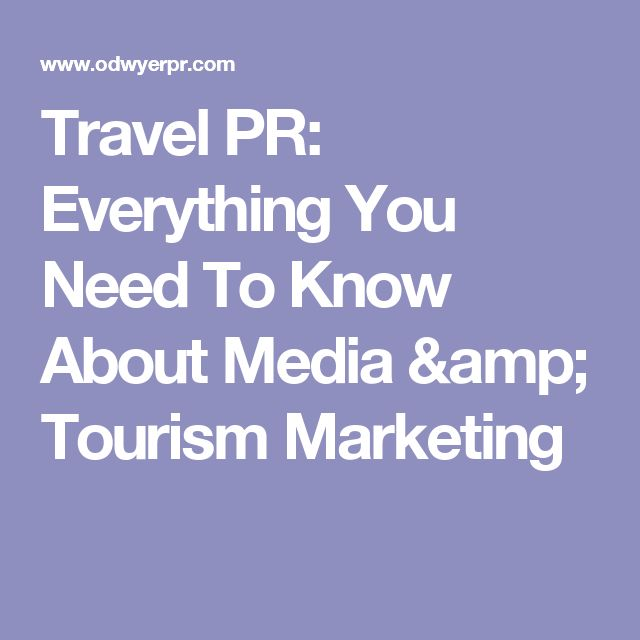 tourism marketing communications mix Tourism africa north africa the role of public relations in the marketing mix 8 may 2002 | save public relations is therefore a form of communication.