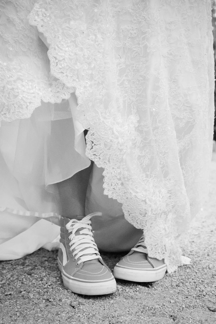 Fort Worth Wedding Photography | Tennis Shoes with Wedding Dress | Vans with Wedding Dress | Proof Photography