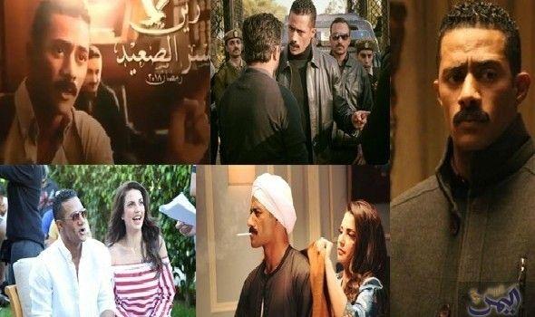مشاد ة كلامية بين محمد رمضان وسيد رجب خلال برومو