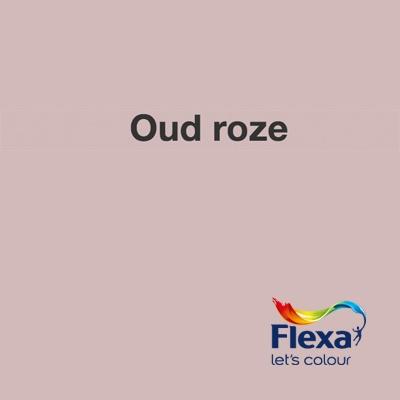 Collectie: Strak op de Muur Kleur: Oud Roze URL: http://www.flexa.nl/nl/kleur/grijsblauw/