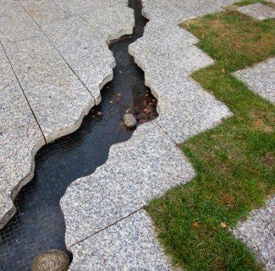 Cool take on a rill or a stream via terragram