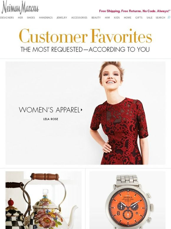 11 best email templates images on pinterest coupon codes email neiman marcus customer favorites valentino more neiman marcusvalentinocoupon codesemail templatesmilling fandeluxe Gallery