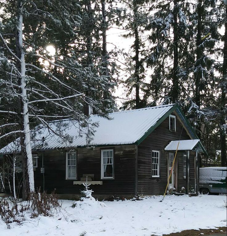 Northwoods cabin, Love this cute little cabin, Mercer Wisconsin